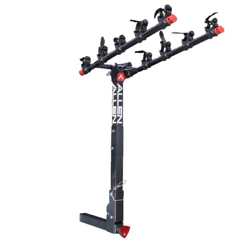 Allen Sports 2 Inch Lockable Hitch Deluxe 5 Bike Rack with Folding Arms, Black - image 1 of 4