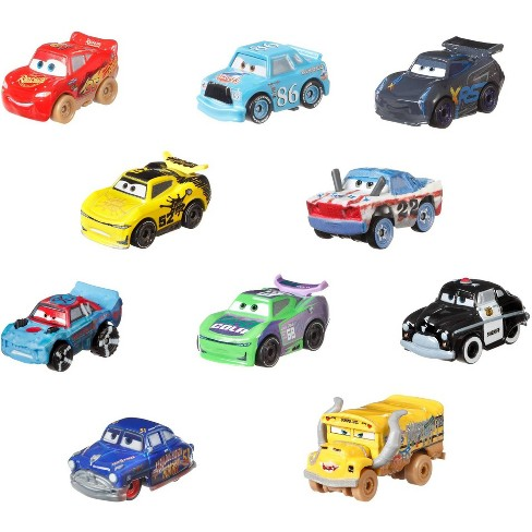 Disney Pixar Cars Mini Racers Variety Vehicle 10pk - image 1 of 4