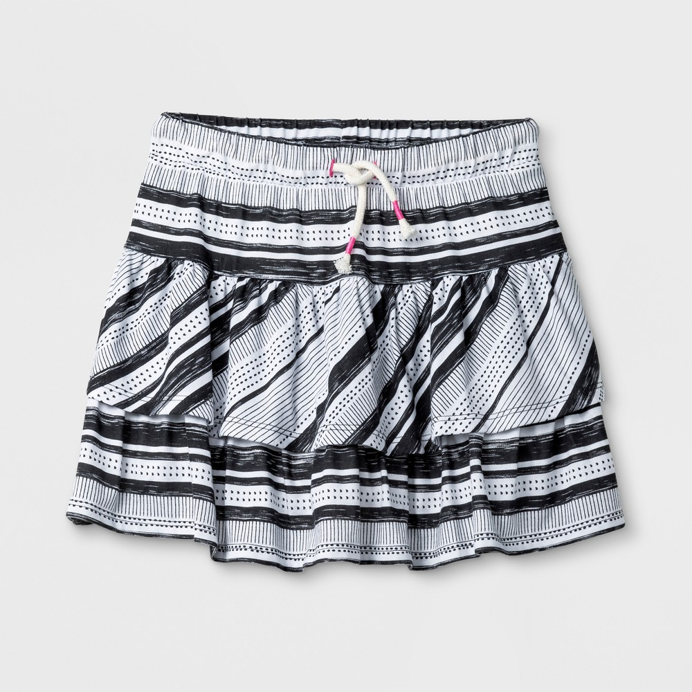 Girls' Knit Scooter - Cat & Jack Charcoal L, Gray