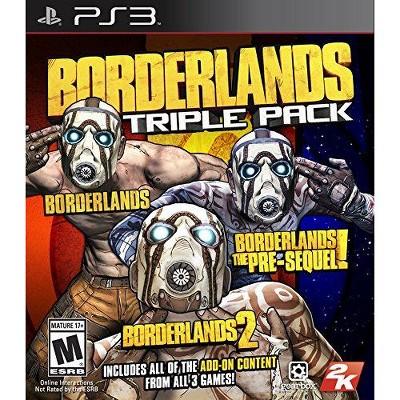 Borderlands Triple Pack - Playstation 3
