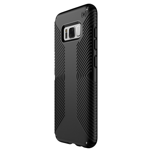 new style baba1 52de7 Speck Samsung Galaxy S8+ Presidio Grip Case - Black