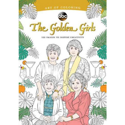 Golden Girls : 100 Images To Inspire Creativity (Paperback) : Target