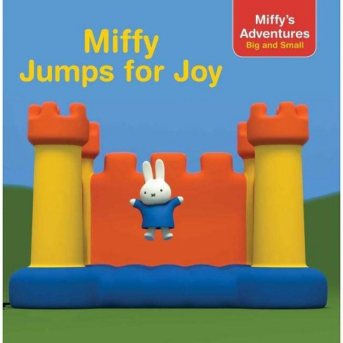 Miffy Jumps for Joy - (Miffy's Adventures Big and Small 8x8) (Paperback) - image 1 of 1