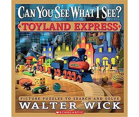 Toyland Express (School And Library) (Walter Wick) - image 1 of 1