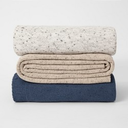 Marled Chenille Bed Blanket - Threshold™