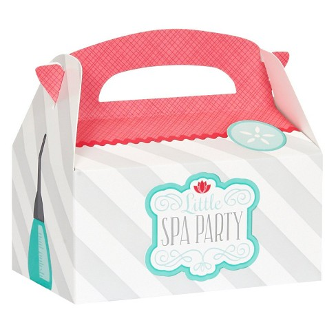 8 ct Little Spa Party Favor Boxes - image 1 of 1