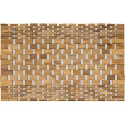 2pk Teak Wood Placemats - Hip-o Modern Living