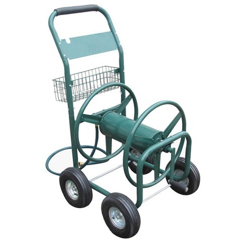 Liberty Garden Products LBG-872-2 4 Wheel Hose Reel Cart Holds up to 350 Feet - image 1 of 4