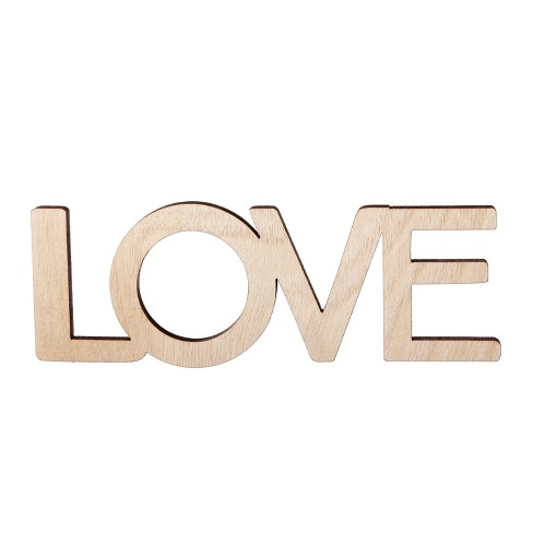 Small Wood Love - Hand Made Modern - image 1 of 1