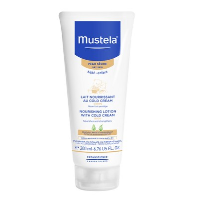 Mustela Nourishing Baby Body Lotion Moisturizing Baby Cream for Dry Skin -  6.76 fl oz