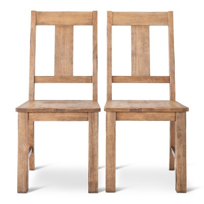 Harvester Dining Chair - Natural (Set of 2)- Beekman 1802 FarmHouse