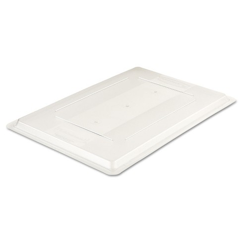 Rubbermaid Commercial Food/Tote Box Lids 26w x 18d Clear 3302CLE - image 1 of 1