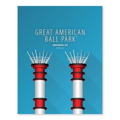 MLB Cincinnati Reds Ballpark Canvas