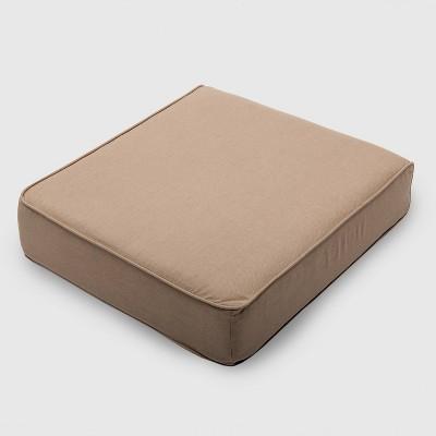 Outdoor Double Welt Deep Seat Cushion Sunbrella Spectrum - Smith & Hawken™