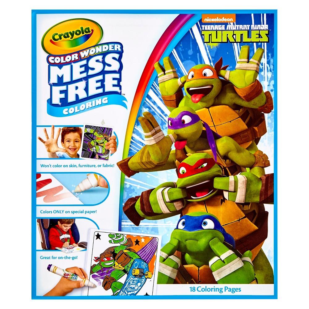 Crayola Color Wonder Refill Coloring Book- Teenage Mutant Ninja Turtle