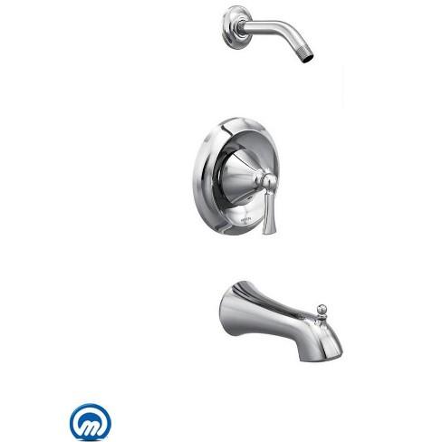 Moen T4503NH Wynford Single Handle Posi-Temp Pressure Balanced Tub and Shower Trim - image 1 of 2