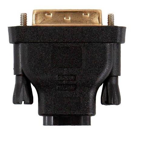 Hdmi//dvi For Tripp Lite Dvi-d Female To Hdmi Male Gold Adapter 8 Inch