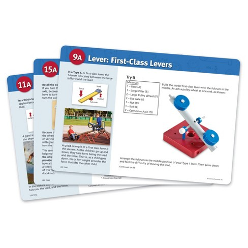 Learning Resources Simple Machines Activity Cards Set - image 1 of 3