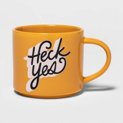16oz Heck Yes Mug - Room Essentials™