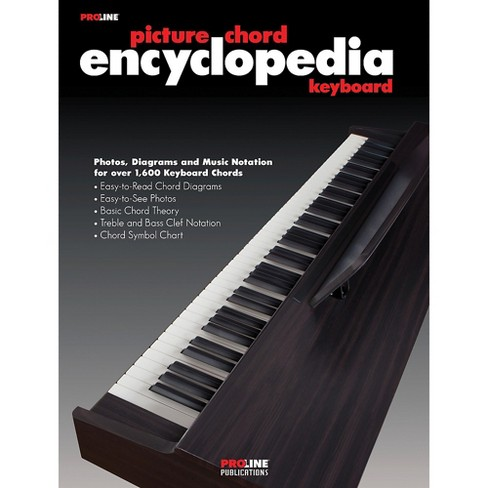 Proline Keyboard Picture Chord Encyclopedia Book - image 1 of 1