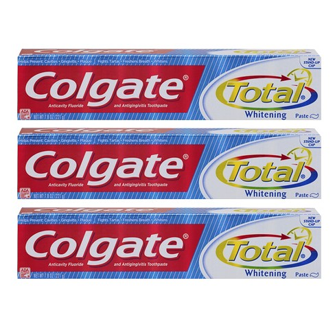 Colgate® Total Whitening Toothpaste 7.8oz, 3 Pack - image 1 of 1