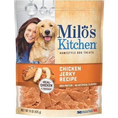 Milo's Chicken Jerky Dog Treats - 15oz