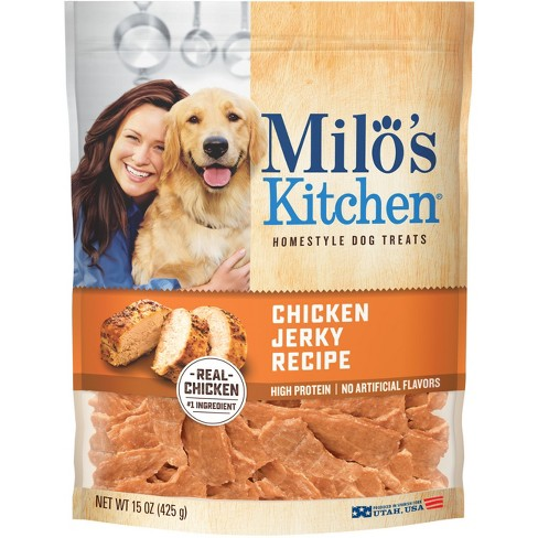 Milo's Chicken Jerky Treat 15oz - image 1 of 3