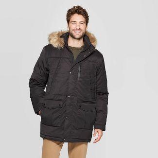 Men's Parka Winter Coat - Goodfellow & Co™ Black L
