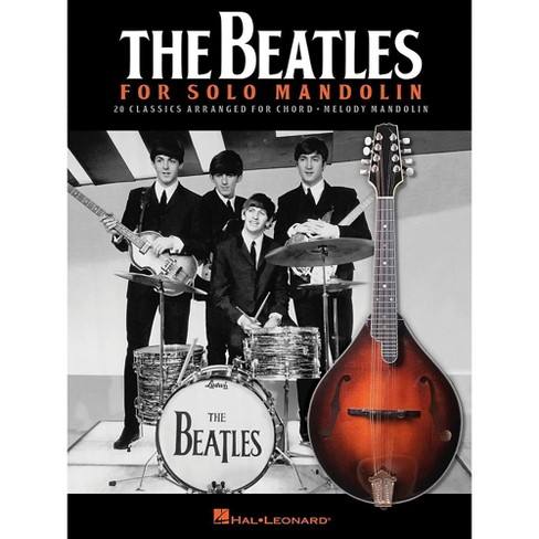Hal Leonard The Beatles For Solo Mandolin - image 1 of 1