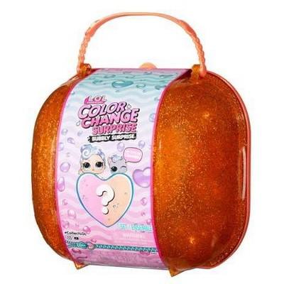 L.O.L. Surprise! Color Change Bubbly Surprise Orange with Exclusive Doll & Pet