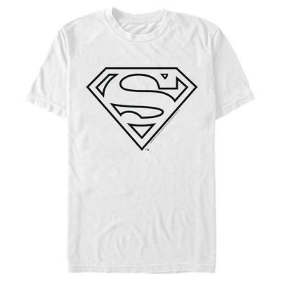 Men's Superman Logo Sleek T-Shirt