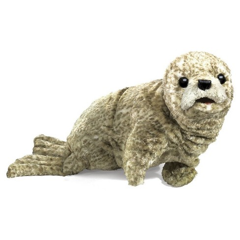 Folkmanis Harbor Seal Hand Puppet - image 1 of 1