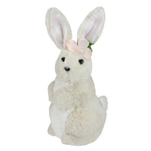"""85e5abcd4d5dc Northlight 11.5"""" Plush Standing Easter Bunny Rabbit Girl Spring Figure -  Beige Pink   Target"""