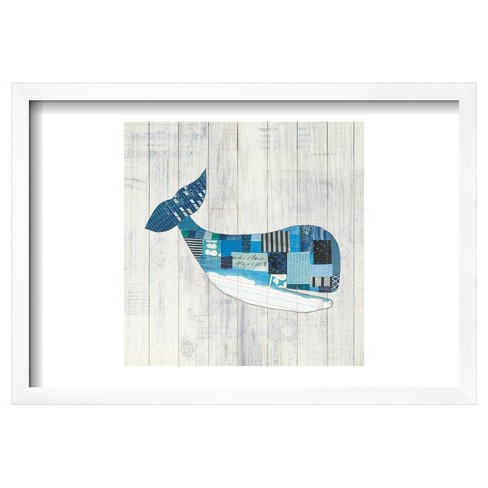 "Wind and Waves II Nautical by Courtney Prahl Framed Poster 19""x13"" - Art.Com - image 1 of 3"