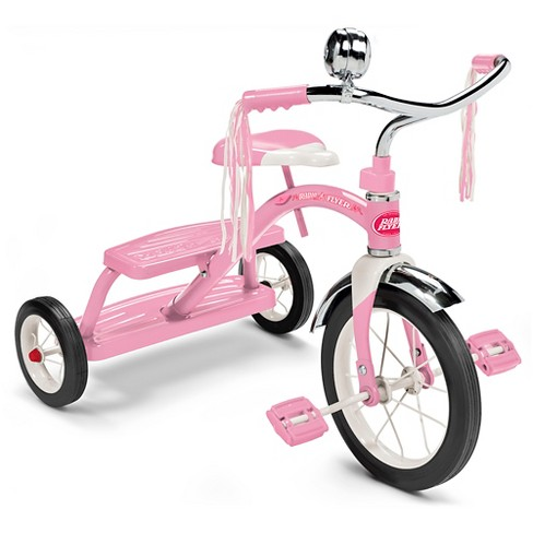 Radio Flyer® Classic Dual Deck Tricycle - Pink - image 1 of 9