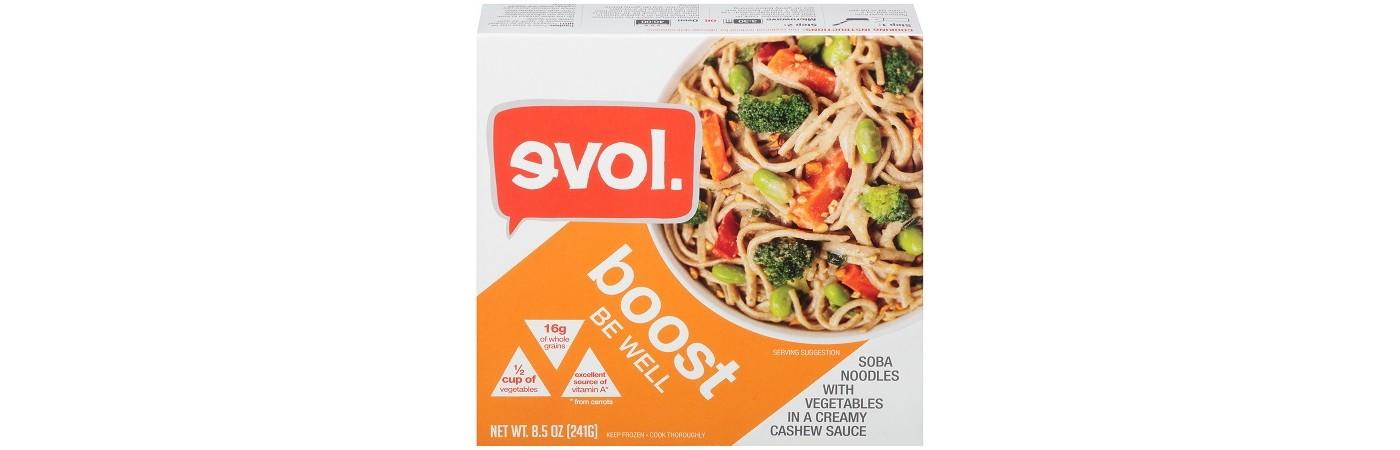 Evol Soba Noodle Cashew Frozen Boost Bowl - 8.5oz - image 1 of 1