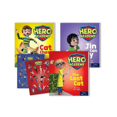 Hero Academy - (Hardcover)
