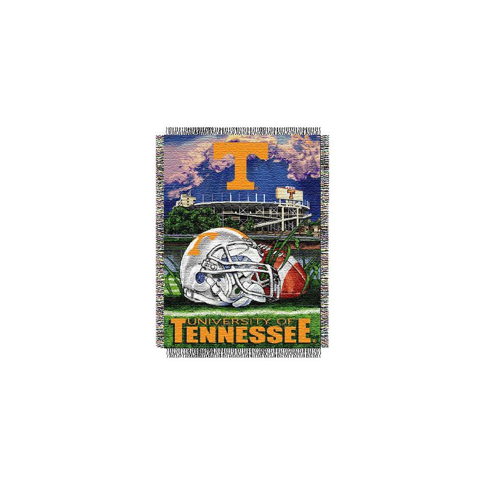Tennessee Volunteers Home Field Advantage College Throw Blanket