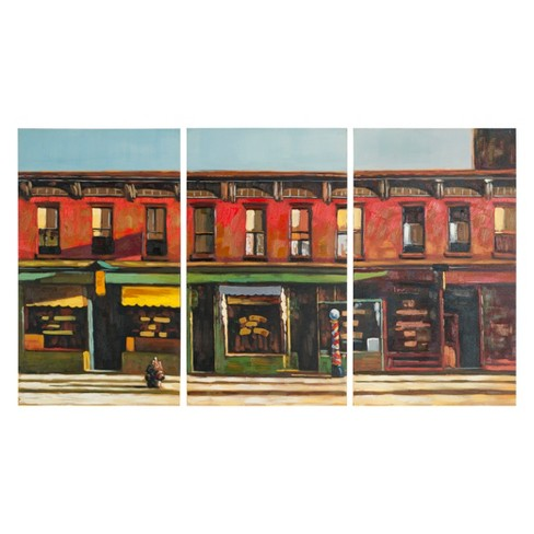 Main Street Triptych Wall Art - Safavieh® - image 1 of 2
