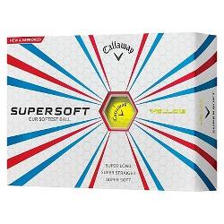 Callaway Supersoft Yellow Golf Balls - 12pk