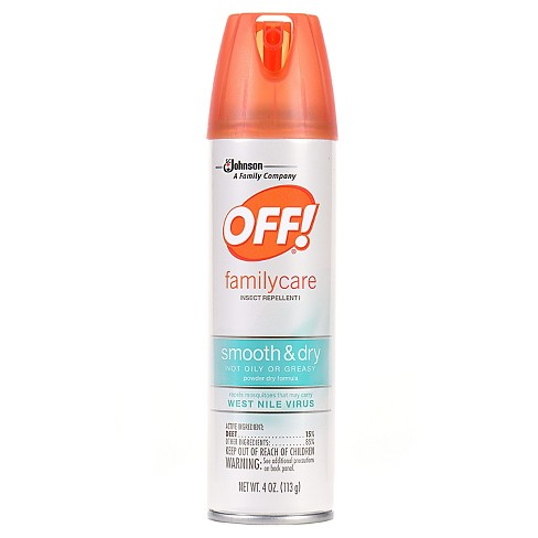 OFF! FamilyCare Insect Repellent I, Smooth & Dry, 4oz - image 1 of 1
