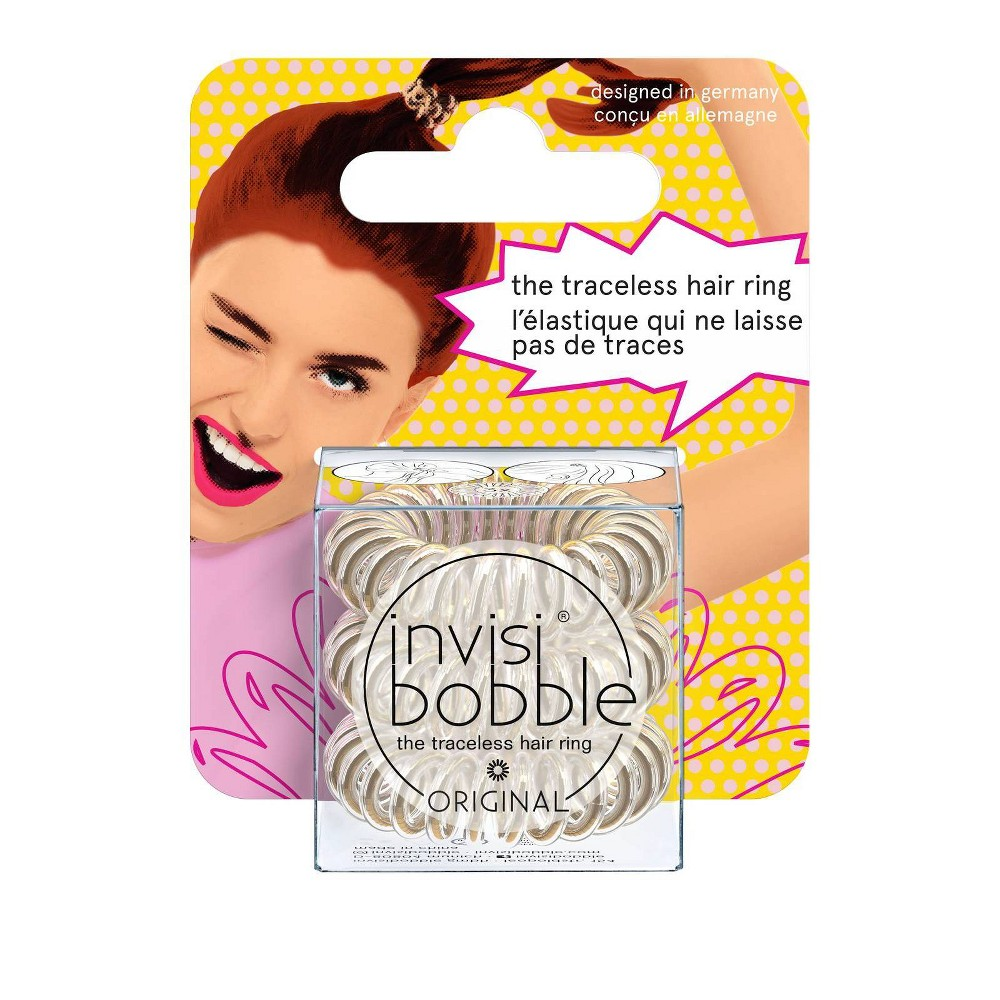 Image of Invisibobble Original Hair Elastics - Bronze Me Pretty, Brown