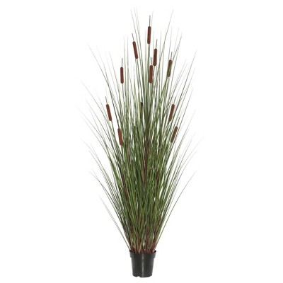 "Artificial Grass/Cattail Plant (60"")Brown - Vickerman"