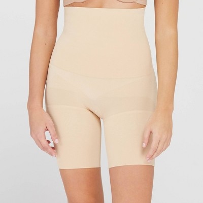 ASSETS by SPANX Women's Remarkable Results High-Waist Mid-Thigh Shaper
