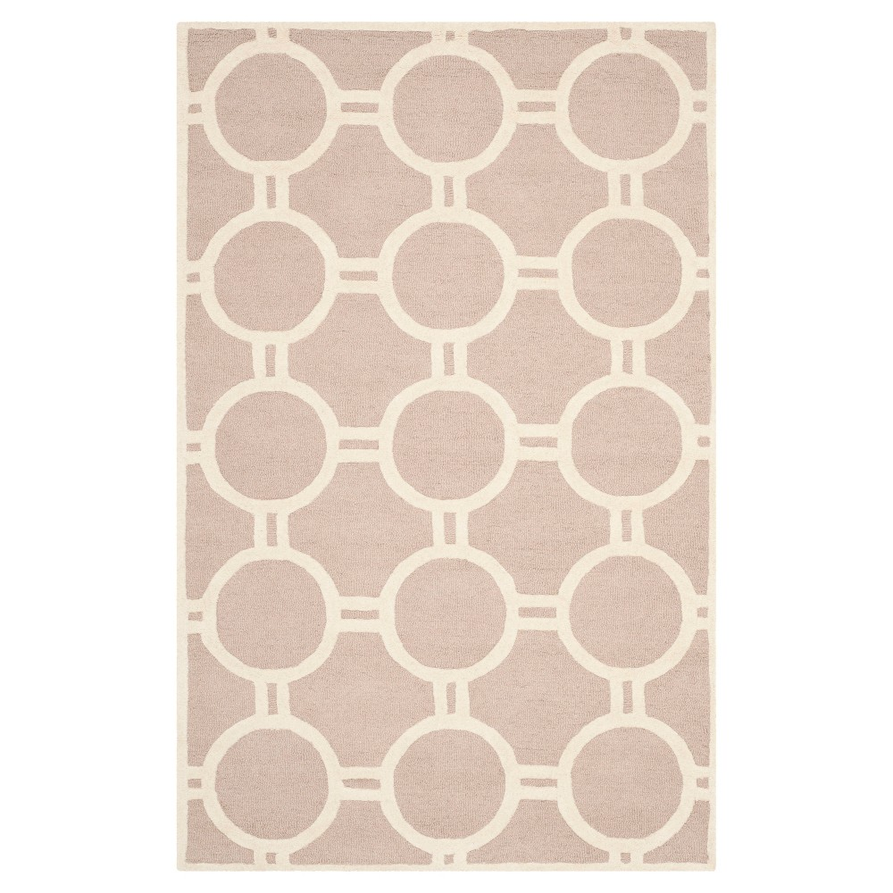 Sullivan Texture Wool Rug Beige Ivory 5 39 X 8 39 Safavieh