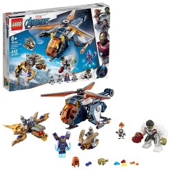 LEGO Super Heroes Marvel Avengers Hulk Helicopter Rescue 76144