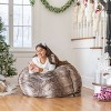 Monroe Bean Bag Chair - Christopher Knight Home - image 2 of 4