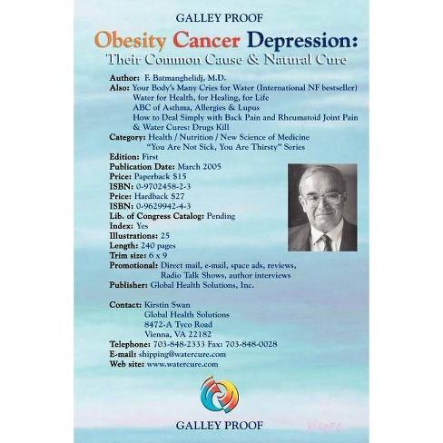 Obesity Cancer & Depression - (Paperback) - image 1 of 1