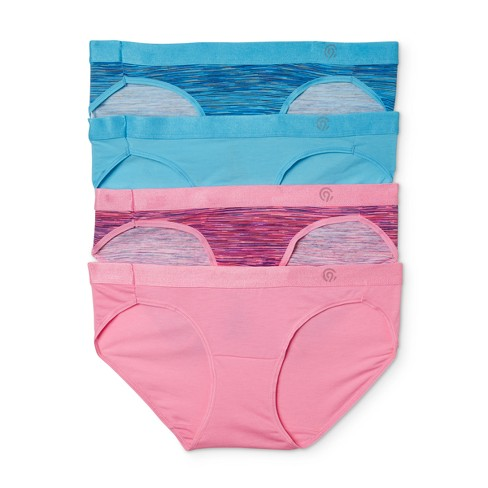 Women's Duo Dry Stretch Bikini Briefs 4-pk - C9 Champion® - image 1 of 3
