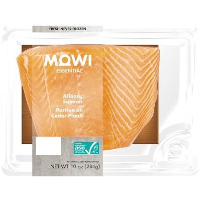 MOWI Fresh Atlantic Salmon Portion on Cedar Plank - 10oz